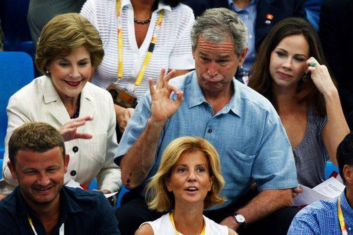 The Funniest George W Bush Photos (38 pics)