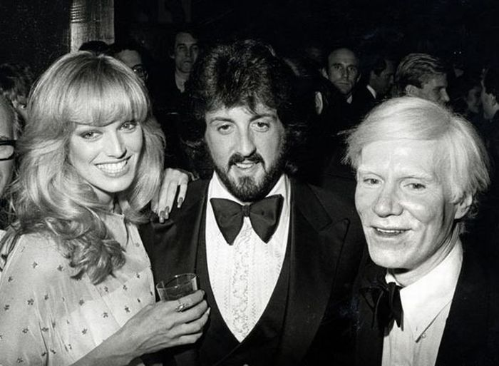 Rare Photos of Famous People. Part 6 (109 pics)