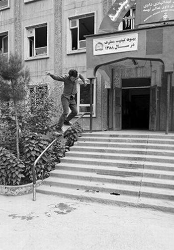 Skateboarding in Afghanistan (10 pics)