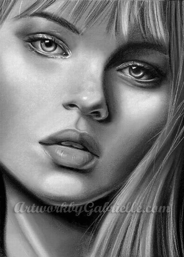 Pics Of Girl Drawings