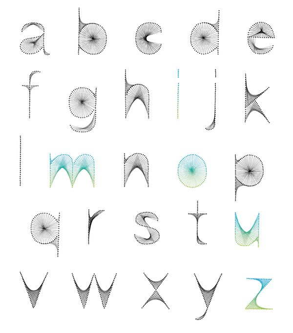 Nails and Twite Alphabet (10 pics)