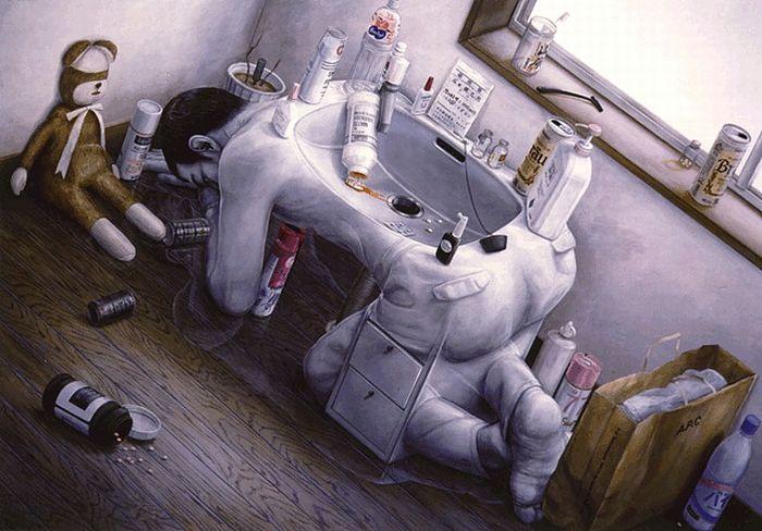 ¿Susrealismo? - Página 7 Surrealistic_paintings_by_tetsuya_ishida_01