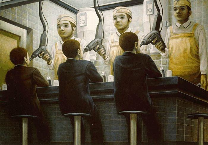 Surrealistic Paintings by Tetsuya Ishida (21 pics)