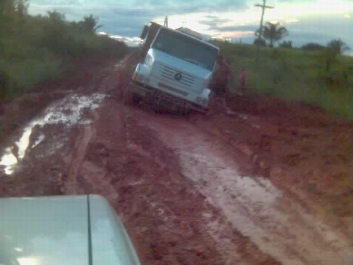 Trans-Amazonian Highway. Another Very Bad Road (65 pics)