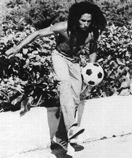 Bob Marley Playing Soccer (13 pics)