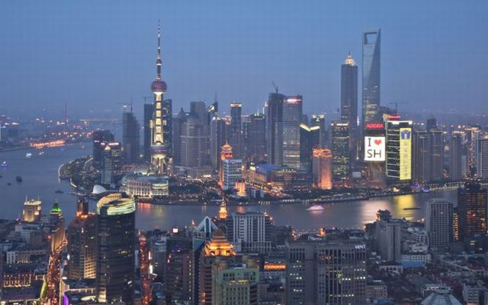 How Shanghai Has Changed in 20 Years (3 pics)