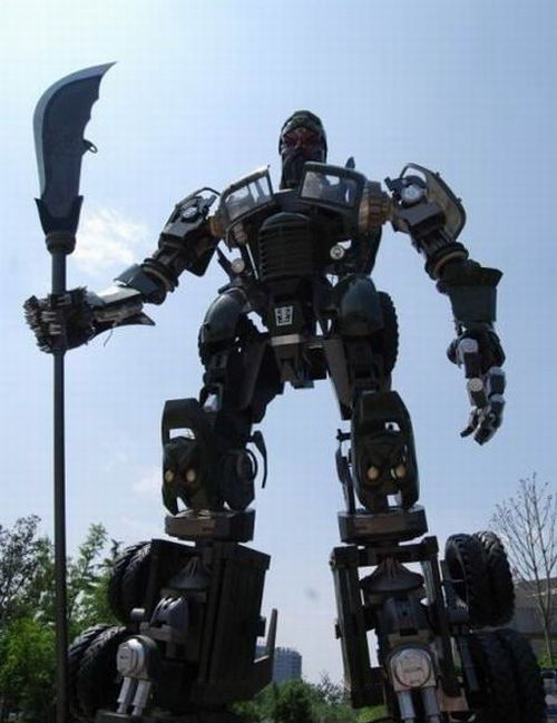 Chinese Transformer (4 pics + video)