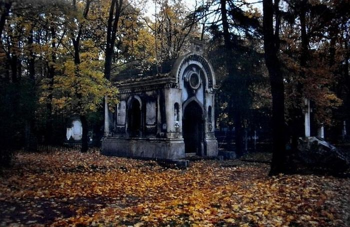 Spooky but Beautiful Photographs Taken in Graveyards (34 pics)