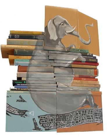 Stacked Books Artwork (29 pics)