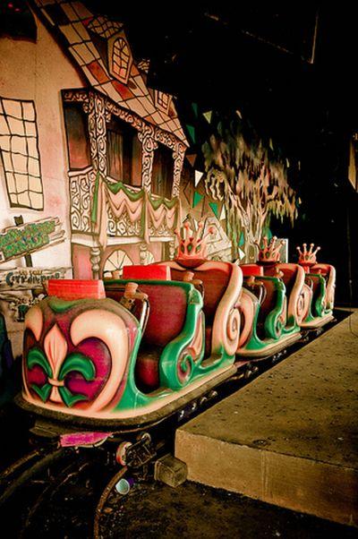 Parque de Diversiones Abandonado Six Flags en Nueva Orleans