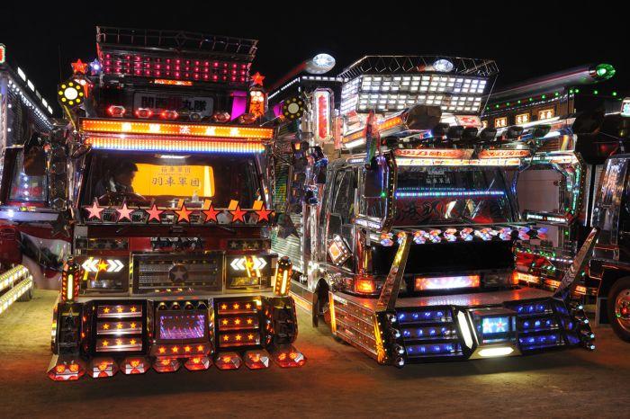 Cool Japanese Trucks (46 pics)