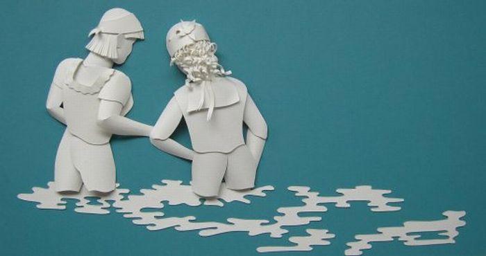 Paper Sculptures (23 pics)