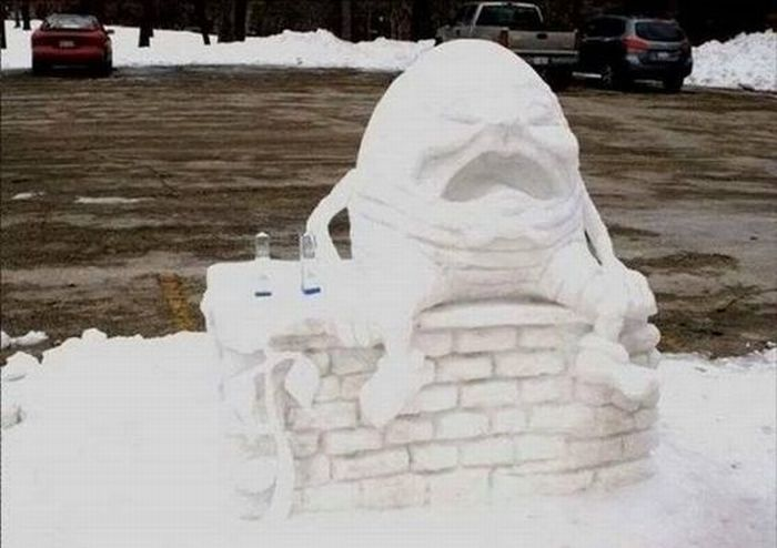 Beautiful Snow Sculptures (29 pics)