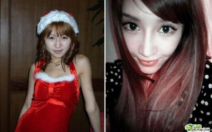 Transformation of a Chinese Girl (13 pics)