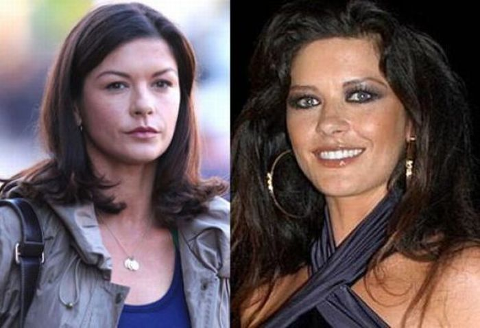 Celebrities With And Without Bad Makeup (21 pics)