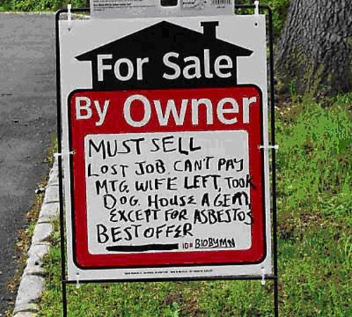 Funny For Sale Signs 23 pics