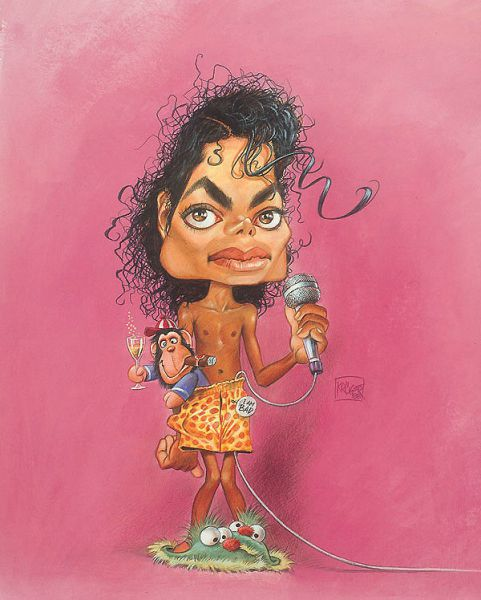 Celebrities in Drawings and Caricatures (76 pics)