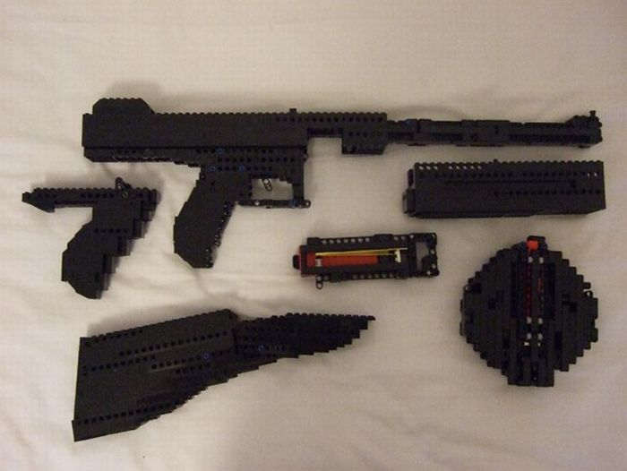 lego pump action shotgun instructions