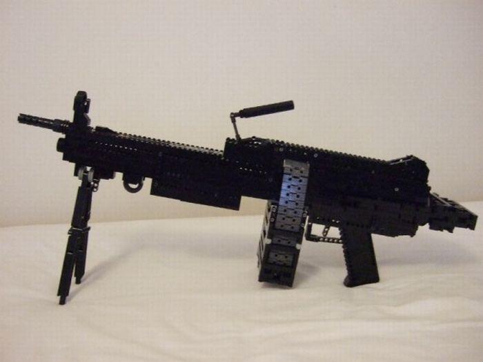 LEGO Guns (30 pics)