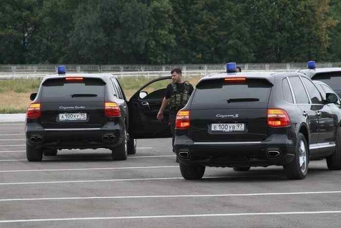 The Cars of Chechen President Ramzan Kadyrov (16 pics)