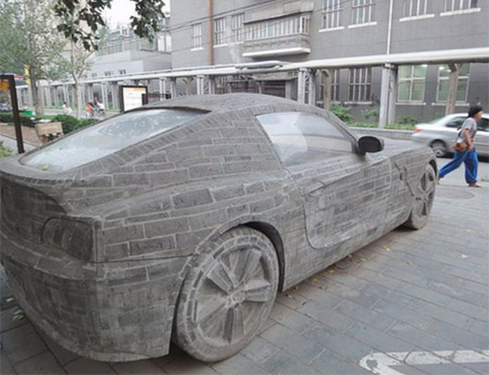 BMW Z4 Made From Stone (6 pics)