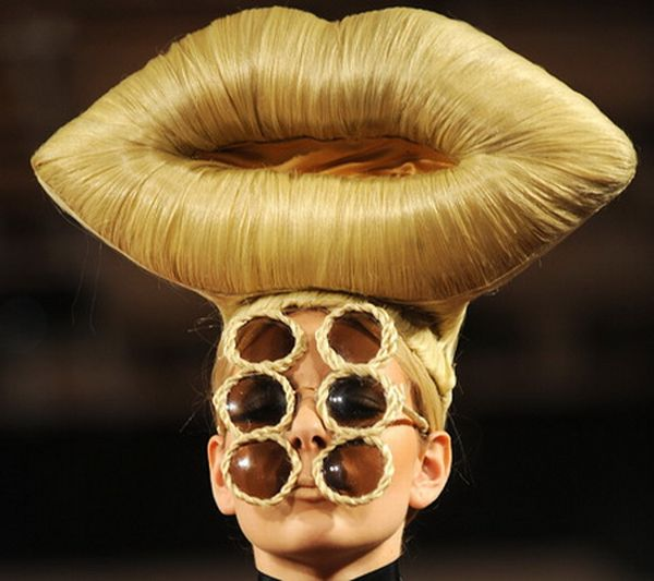 Amazing Crazy Hairstyles 29 Pics Hairstyles For Men Maxibearus