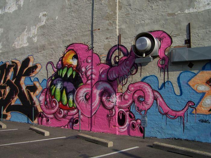 Fantastic Wall Paintings (14 pics)