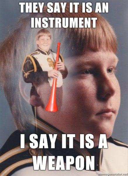 Funny Vuvuzela Pictures (41 pics + 2 gifs)