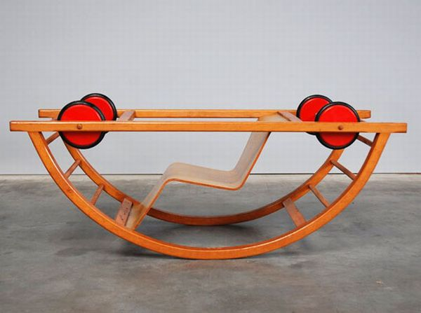 A Kid's Car That Becomes a Rocking Chair (7 pics)
