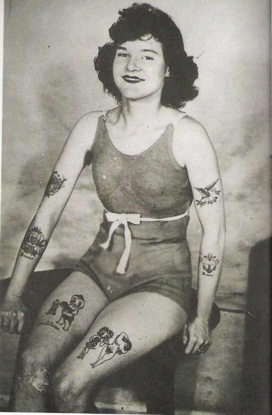 Retro Tattoos (28 pics)
