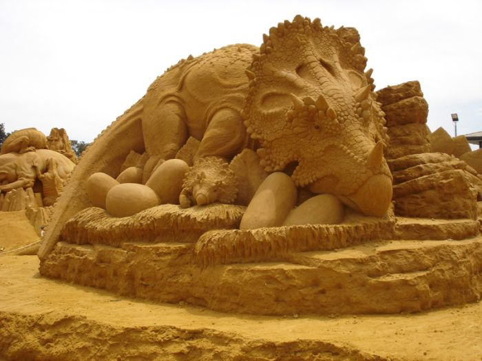 Sand Sculptures. Part II (57 pics)
