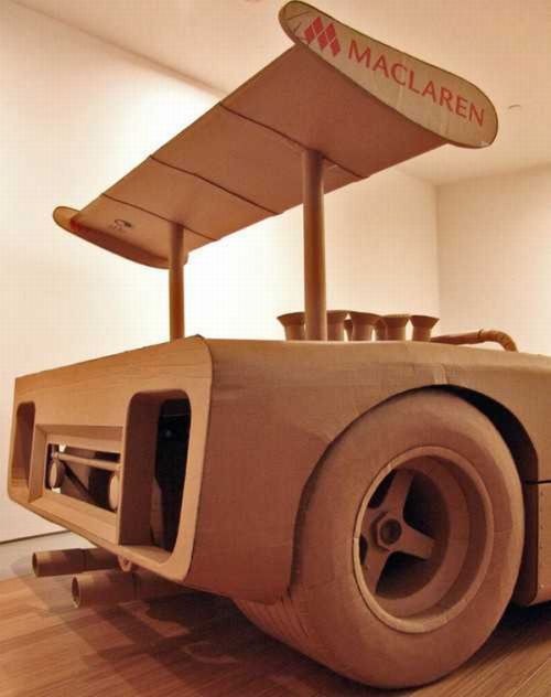 Cardboard Vehicles (16 pics)