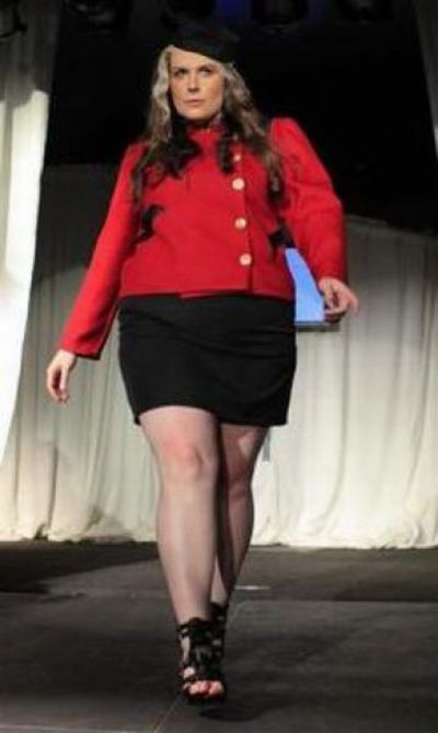 Full Figured Fashion Week in New York (13 pics)