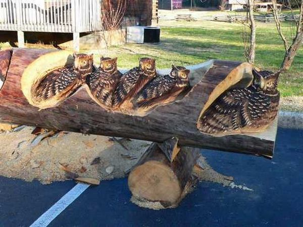 Beautiful Wood Carving Art (12 pics)