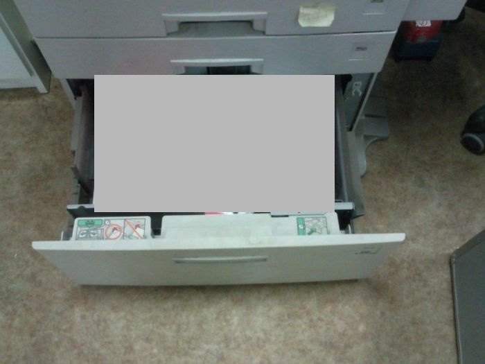 The Copier Isn't Working. But Why? (2 pics)