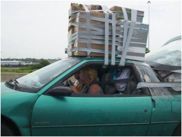 Hilarious Ways of Transportation (43 pics)
