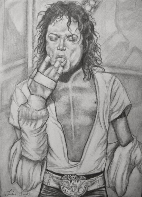 The Creepiest Michael Jackson Tribute Drawings (16 pics)