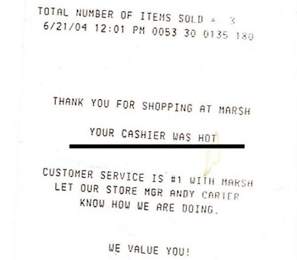 Funny Receipts (40 pics)