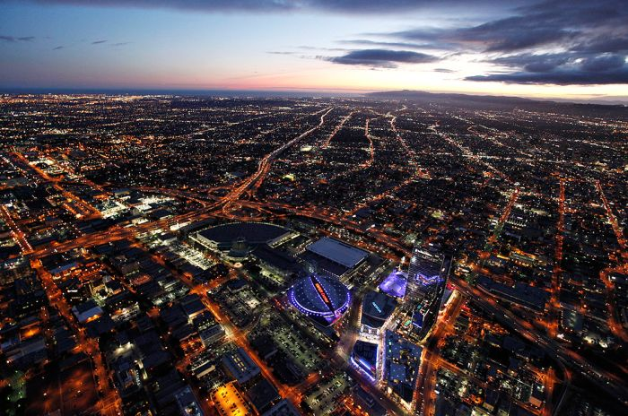 Downtown L.A. View From Above (16 pics)
