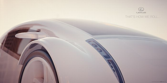 Amazing Lexus Concept (9 pics)