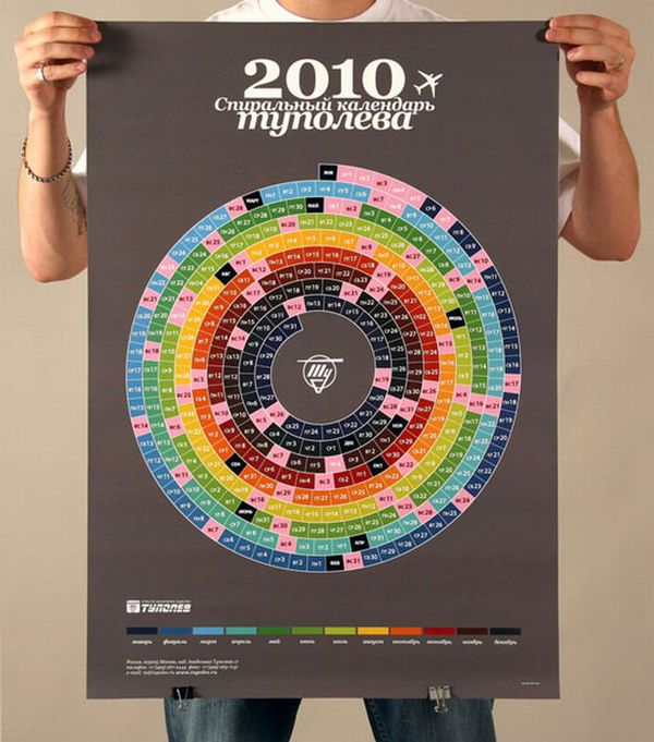 Very Creative And Very Unusual Calendar Designs (61 Pics