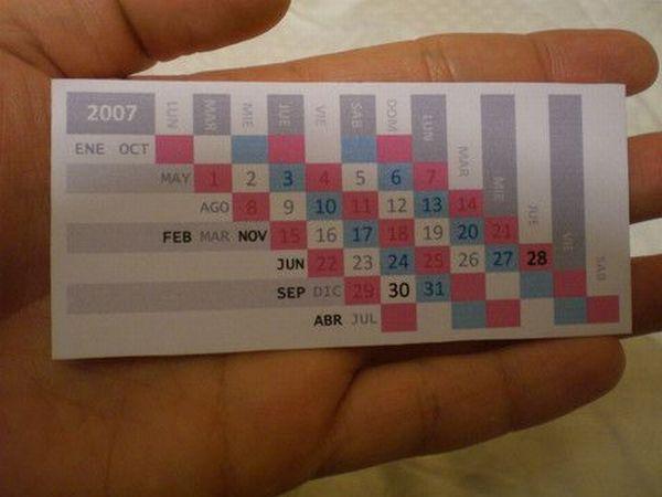 Very Creative and Very Unusual Calendar Designs (61 pics)