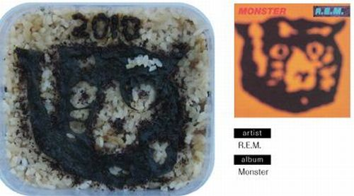 Bento Lunches Decorated as Album Covers (49 pics)