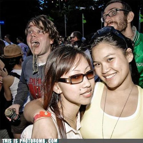 Photobombs. Part 5 (47 pics)