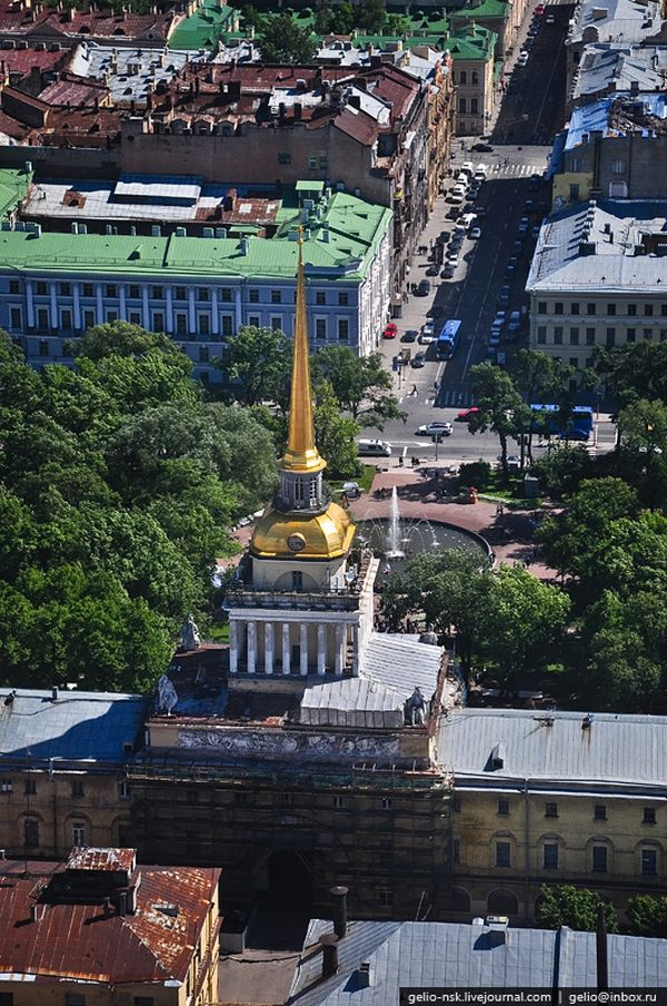 Aerial Photographs of Russian City of Saint Petersburg (45 pics)