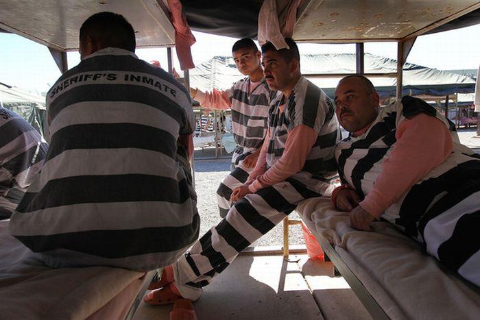 Tent City of Maricopa County Jail (27 pics)