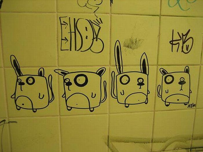 Bathroom Graffiti (51 pics)