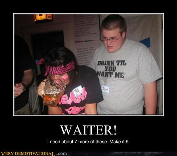 The Best Demotivational Posters of June. Part 2 (134 pics)