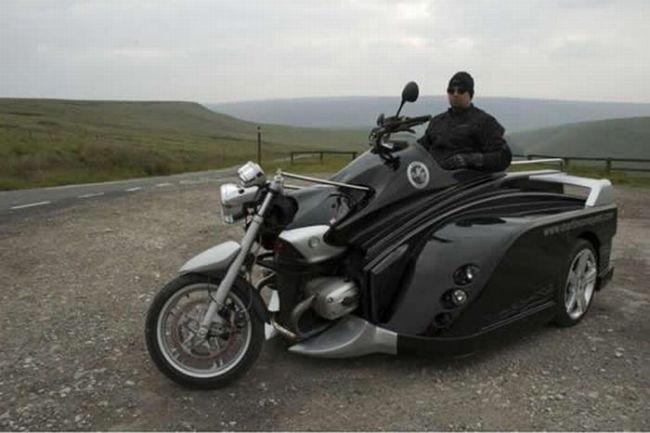 Wheelchair Motorcycle (6 pics)