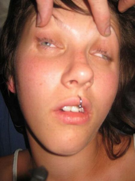 Cum in passed out girl